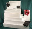 2 PIECE POP-UP BOXES SEMI WHITE GLOSS